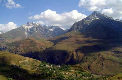 горно бадахшанская автономная область, Природа Таджикистана: горы Таджикистана, Памир, Фанские горы