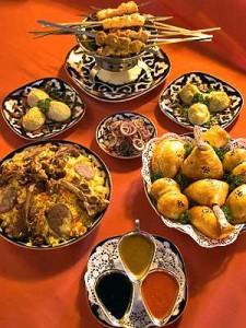 National Uzbek Cuisine Cuisine Of Uzbekistan Palov Samsa Lagman