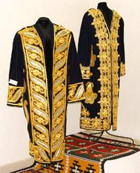 Вышивка золотом одежда