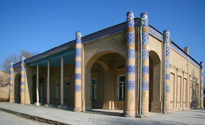 Дворец Нурулла-бая.Фотографии исторических памятников Хивы,Nurullaboy Hovlilari