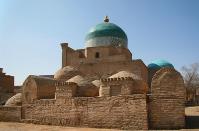 Памятники Хивы, монументы Хивы, Хива Монументы, Хива, Мавзолей, Памятник, Мемориал Пахлаван-Махмуда