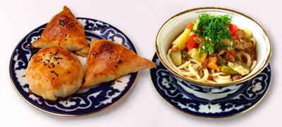 Восточная кухня - Манты, казы, лагман, нарын, шурпа, мастава, шашлык, сомса,Плов – вершина узбекской кулинарии