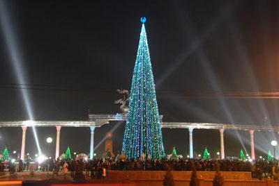 New year in Uzbekistan